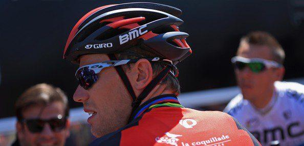 Thor Hushovd, seulement vainqueur d'une étape du Tour du Haut-Var, vit une saison cauchemardesque – Photo BMC
