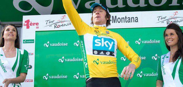 Après la victoire de Wiggins en 2012, ses coéquipiers Froome et Porte feront tout pour s'imposer – Photo tourderomandie.ch