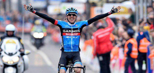 Après une Flèche wallonne conclue à la quatrième place, Daniel Martin s'offre Liège-Bastogne-Liège - Photo Garmin Sharp