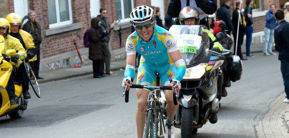 En 2012, c'est dans la côte de Saint-Nicolas que Maxim Iglinskiy, futur vainqueur, avait fait la différence - Photo Astana
