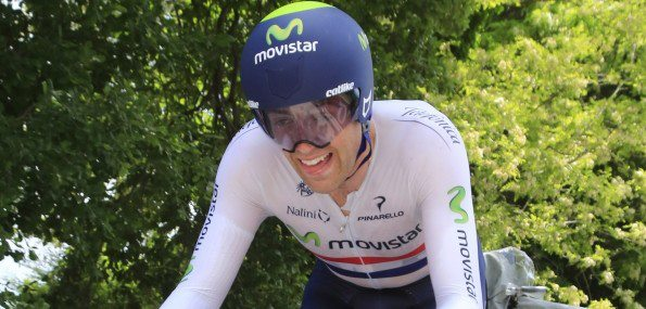 Champion de Grande-Bretagne du contre-la-montre, Alex Dowsett remporte le chrono de Saltara - Photo Movistar