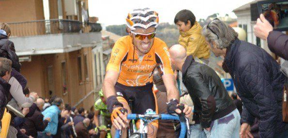 Tirreno-Adriatico : l'une des rares courses où l'on a pu voir Samuel Sanchez placé parmi les meilleurs - Photo Euskaltel