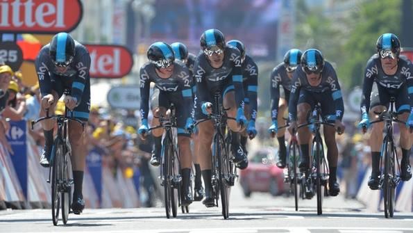 La Sky a beau se regarder, elle n'aura pas pris d'ascendant psychologique fort sur Alberto Contador - Photo ASO