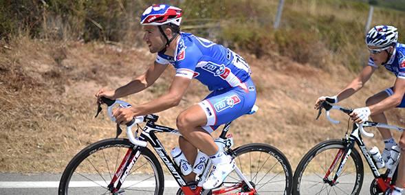 En six jours de course, Nacer Bouhanni aura connu beaucoup de péripéties sur le Tour, rarement heureuses - Photo ASO