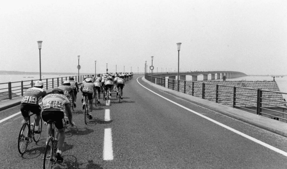 Le Tour de France a visité l'île d'Oléron lors du Tour de France 1983. Photo : L'Équipe / ASO