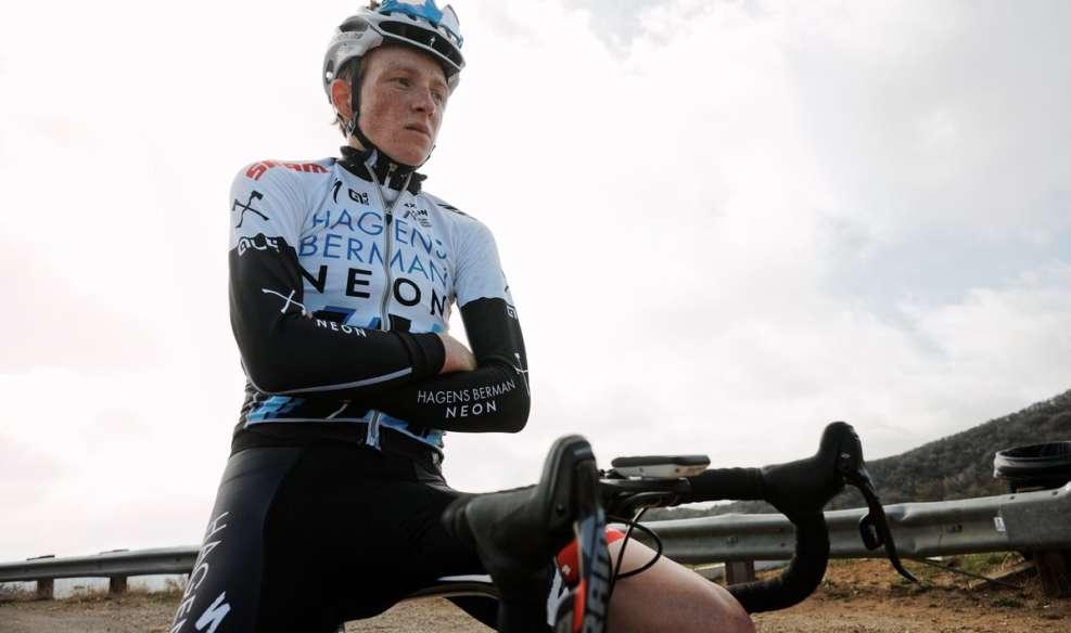 Tao Geoghegan Hart fait partie des nombreuses pépites passées par l'équipe Axeon d'Axel Merckx - Photo Hagens Berman Axeon